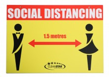 MALE & FEMALE - DOUBLE SIDED (SIGN-SD3)